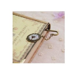 China 2019 Newest Vintage Design Alloy Bookmarks for Book Creative retro Metal Bookmark Supplies Gift Mermaid Beaded Fashion Bookmark cheap newest design alloy suppliers