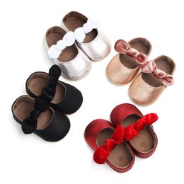 Korean toddlers online shopping - Female baby leisure Korean board baby rubber sole non slip toddler shoes years old