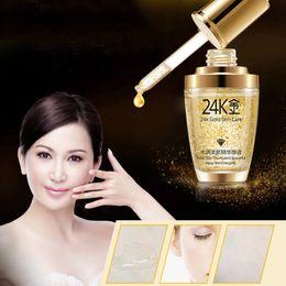 $enCountryForm.capitalKeyWord Australia - BIOAQUA 24K Gold Face Cream Whiten Moisturizing 24 K Gold Day Cream Hydrating 24K Gold Essence Serum For Women Face Skin Care
