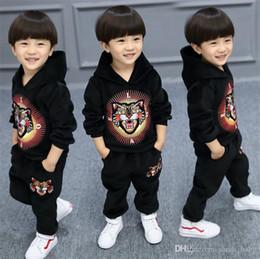 $enCountryForm.capitalKeyWord NZ - Boys suit thickening 2018 winter new Korean children's clothing plus velvet baby gold velvet sports two sets of tide online free