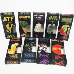 Dab Pens For Australia - New DANK M6T MT6 Empty Vape Cartridges Packaging Pen for 510 Thread Vaporizer Dab Wax Vaporizer Thick Oil Atomizer Fruit Flavors