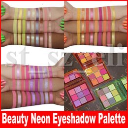 Green palette online shopping - Beauty Eye Makeup Obsessions Neon PINK ORANGE GREEN Eyeshadow Palette Colors Shimmer Matte Eye Shadow Styles