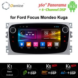 dvd player focus android Canada - Ownice DSP Android Car DVD Player 2 Din 64G radio GPS Navi for Focus Mondeo Kuga C-MAX S-MAX Galaxy Audio Stereo Head Unit