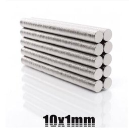 $enCountryForm.capitalKeyWord Australia - High quality Super Strong Powerful Small Round NdFeB Rare Earth Neodymium Magnet 10x1mm