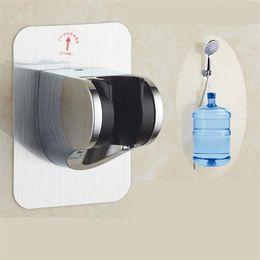 Новый кронштейн душ, не перфорированная Вставлять типа, регулируемые душевая головка насадка фиксируется душ основание в ванной 6035 на Распродаже