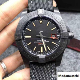 Best military glasses online shopping - men watch blackbird automatic best quality stainless steel and canvas strap military male watch with low price in stock hot sell models