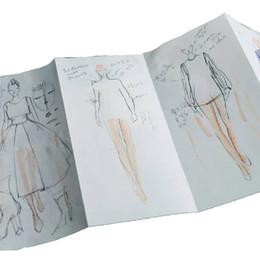$enCountryForm.capitalKeyWord Australia - Women Fashion Template Paper Panel Flexible Sketchpad Womens Figure for Fashion Designers; 9 Pages per Panel (Total 6 Panels)