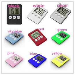magnetic timers Australia - Magnetic Kitchen Timer cooking baking Countdown reminder LCD Screen Digital Mechanical Timer sleep beauty Count Up Alarm Kitchen Accessories