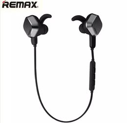 Wireless Noise Cancelling Ear Headphones UK - Wholesale REMAX Original Brand New RM-S2 Bluetooth Headphone V4.1 Sports Stereo Earphone Magnet Headset Noise Cancelling sport bluetooth