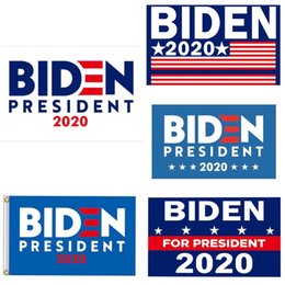 banner gift Australia - Biden 2020 Make America Great Flag 3*5Ft (90Cm*150Cm) Polyester Flag Banner Decoration Flying Home & Garden Flag Festive Gifts#374