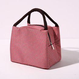 $enCountryForm.capitalKeyWord Australia - Wholesales 22X15.5X17cm Thermal Lunch Box Bags Dinner Plate Sets Handbags Travel Gadgets Closet Organizer Kitchen Accessories 7 Colors DHL