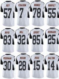 ec66c47dc48 BENGAL Cincinnati #18 AJ Green #14 Andy Dalton #85 Tyler Eifert #55 Vontaze  Burfict #7 Men Women Youth Color Rush Elite Football Jerseys