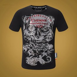 T shirTs facTory online shopping - 2019 Luxury shirt New T Shirts Arrival Famous Luxury France Brand Factory Fashion Model Skinny Hole For Women Men