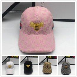 afee7c978 2019 Summer New brand mens designer hats adjustable baseball caps luxury  lady fashion hat summer trucker casquette women causal ball cap