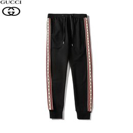 Relax shoes online shopping - high quality men s designer sports pants designer full body letter trotting jogging pants men s yoga jogging shoes running pants