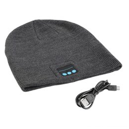 knit hats headphones NZ - Unisex Smart Hats & Caps Hats, Scarves & Gloves Wireless Bluetooth Music Winter Warm Knitted Beanie Hat Headphones Cap with Handsfree Earpho