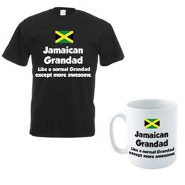 a823f1769 mens designer t shirts shirt Jamaica T-Shirt & Mug - JAMAICAN GRANDAD -  Caribbean Jamaican Funny Gift Idea