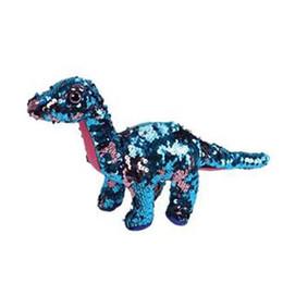 "$enCountryForm.capitalKeyWord UK - Ty Sequins Flippables 6"" 15cm Tremor The Dinosaur Plush Regular Big-eyed Stuffed Animal Collection Doll Toy"