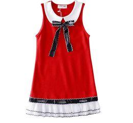 $enCountryForm.capitalKeyWord Australia - High-end Girl's vest dress Dress Dress Children's Roman Cotton Skirt
