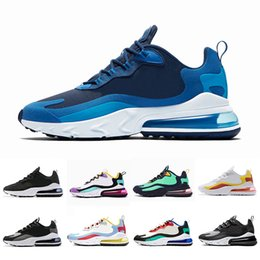 HigH quality trainers online shopping - 2019 Blue Void Bright Violet BAUHAUS React men running shoes Electro Green OPTICAL High quality mens trainer sports outdoor sneakers