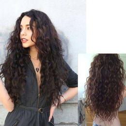clip extensions for black women 2019 - 28Inches Long Clips in Hair Extension Synthetic Natural Hair Water Wave Blonde Black For Women Heat Resistant Hairpiece