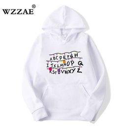 Hip Hop sweatsHirts for men online shopping - 2018 Trendy Faces Stranger Things Hooded Mens Hoodies and Sweatshirts Oversized for Autumn with Hip Hop Winter Hoodies Men Brand SH190918