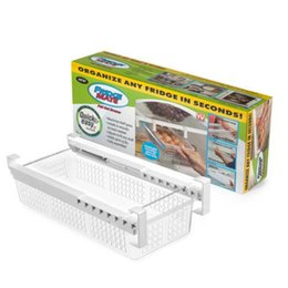 Toys Fridges Australia - 2018 Newest Hot Fridge Mate Refrigerator Pull Out Bin and Home Organizer Snap On Drawer To