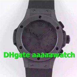 V6 Men Watch Australia - V6 Top Luxury Watch 44 mm II 301.CI.1110.CI Watch 7750 Automatic Chronograph Sapphire Crystal 4104 All Black Ceramic Rubber Strap Men Watch