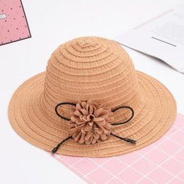 novelty flower hat NZ - 2019 new hot Korean version of the foldable fisherman hat flowers sunscreen sun hat striped beach travel national sunshade
