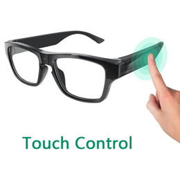 freer eyewear Australia - Smart Glasses Recorder 2 Hours 1080P Video Camera Glasses Touch it Free Your Hands Outdoor Training Teaching Kids Pets Eyewear DVR Camcorder