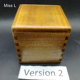 $enCountryForm.capitalKeyWord UK - 10 cm Phoebe Zhennan Hard Wood Puzzle Box Brain Teaser Game Toy Novelty Secret Box Gift Kid ( Model Number SH077 )