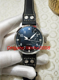 Big Pilots Watch Australia - High Quality Watch New Big Pilot 7 Day Power Reserv 501001 IW501001 IW501002 Automatic day date Black dial Mens watches