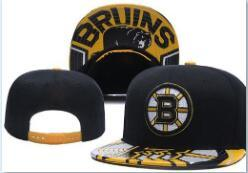 flat caps Australia - Top Quality Cheap Snapback BOSTON BRUINS Cap hat classic bone Baseball Cap Embroidered Team Size Fans Flat Brim for Adult hat caps 00
