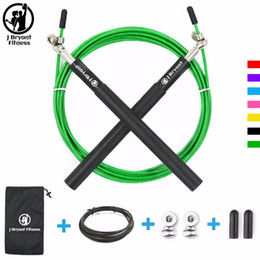 $enCountryForm.capitalKeyWord Australia - Crossfit Speed Jump Rope Professional Skipping Rope For MMA Boxing Fitness Skip Workout Training With Carrying Bag Spare Cable C18112701