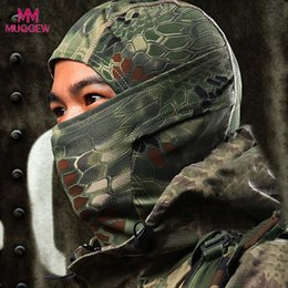 cycle bandana face mask Australia - Mens Bandana Camouflage Army Cycling Bandana Motorcycle Bicycle Cap Balaclava Hat Full Face Mask Wraps Skeleton