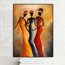 Abstract African Woman Painting Australia New Featured Abstract