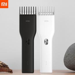 venda por atacado no da Xiaomi Enchen USB Boost elétrica Hair Clipper Duas Velocidades Ceramic Cabelo cortador de carregamento rápido Cabelo Trimmer Crianças