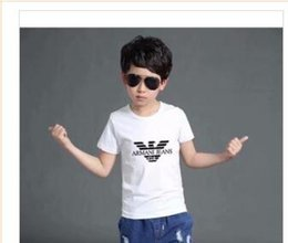 Tee TuTu online shopping - 2019 New Designer Brand Years Old Baby Boys Girls T shirts Summer Shirt Tops Children Tees Kids shirts Clothing