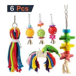 $enCountryForm.capitalKeyWord NZ - 6 Paper Set Parrot Toys Group Combine Parrot Small Favour And Put Sb. In Important Position Product Directly For Bird Toys