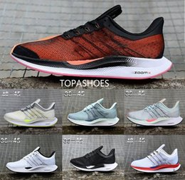 wholesale 2019 Newest Zoom Fly WMNS PEGASUS 35 X Tapered React heels Casual Comfortable 36 Men Running Shoes Women Sports Sneakers from factory soccer boots manufacturers