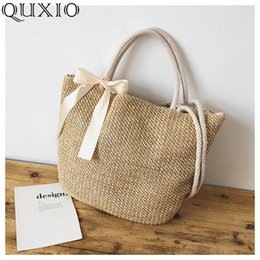 $enCountryForm.capitalKeyWord Australia - Luggage s Handbags 2019 New Bohemian Summer Straw Bag Women Large Capacity Ladies Beach Bag Vacation Woven Bag For Female Casual Tote