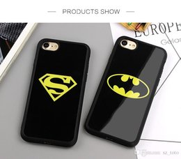 Superman Iphone 5s Case Australia - Mytoto Mirror Superman Batman Case For iPhone 7 Plus 6 6s 8 Plus X Cases Back Cover For iPhone 6S 5 5S SE Covers Fundas Coque