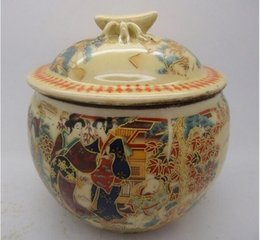 $enCountryForm.capitalKeyWord NZ - Old China handmade porcelain pot painting, sculpture Maid pots