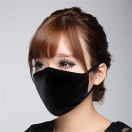 animal anti dust Australia - 1 pc Unisex Mens Womens Adult Cycling Wear Anti-Dust Dust-proof Ash-proof Cotton Mouth Face Mask Respirator
