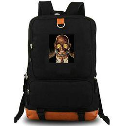 Backpack Canvas Bag Laptop UK - Hugo Strange daypack Super hero school bag Dr Arkham Asylum photo backpack Canvas laptop schoolbag Outdoor rucksack Sport day pack