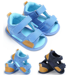 $enCountryForm.capitalKeyWord Australia - 0-18M Newborn Infant Toddler Unisex Soft Leather Baby Shoes With Non-slip Suede Soles Summer Sandals For Girls and Boys