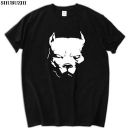 Black spikes dog collars online shopping - male funny present New PITBULL American Pit Bull Spiked Dog Collar Mens T Shirt Size Men T Shirt Print Cotton T shirt sbz5188