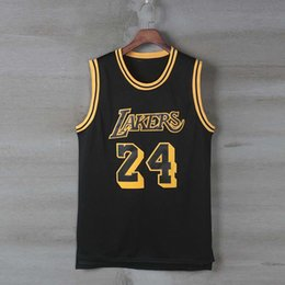 0af2761b7e91 Men s Basketball Kobe Lakers Bryant Jersey Sportswear Classic Duplicate  Basketball Sleeveless Sportswear Comfortable