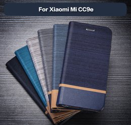 $enCountryForm.capitalKeyWord NZ - PU Leather Wallet Case For Xiaomi Mi CC9e Business Phone Case For Xiaomi Mi A3 Book Case Soft Silicone Back Cover