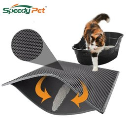 Discount easy flooring - Waterproof Cat Litter Mat Litter Trapper of S-XL Honeycomb Double-Layer Design With Easy Clean and Floor Protection Cat